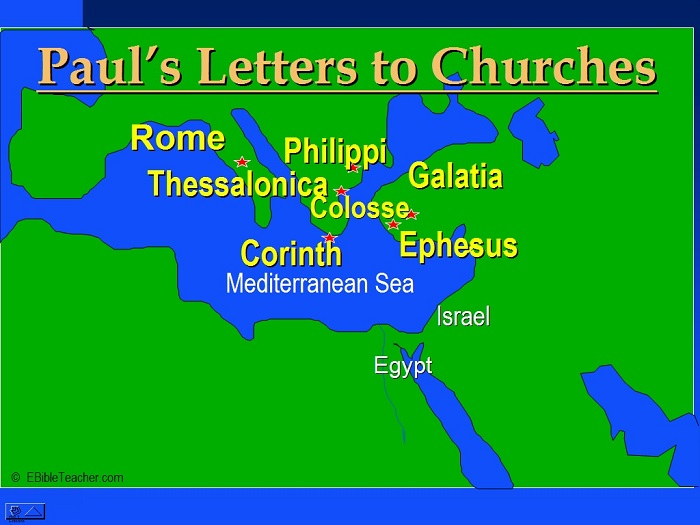 Pauls Letters to Churches