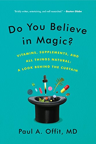 Do You Believe in Magic? Vitamins, Supplements, and All Things Natural: A look behind the curtain