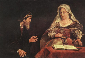 Esther and Mordecai (Aert de Gelder)
