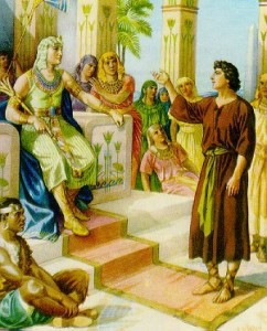 V 1: Joseph went and told Pharaoh