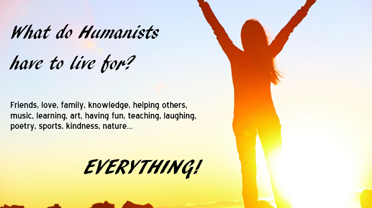 humanists live for med