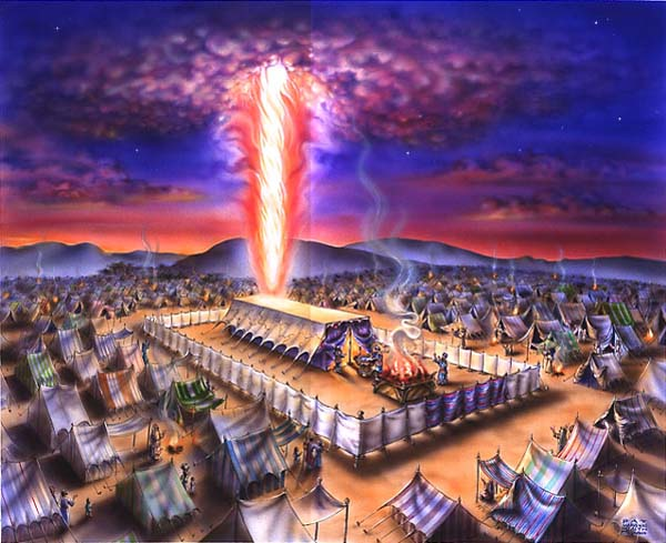 Exodus 40:38 The pillar of cloud above the tabernacle