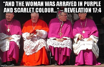 purple clergy