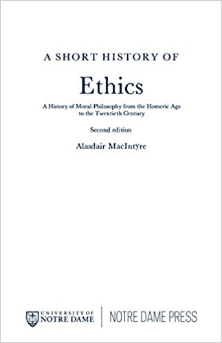 Short History of Ethics, A