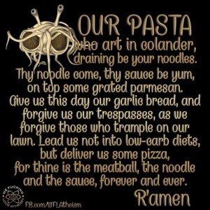 spaghetti prayer